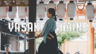 Stroll in Yasaka Shrine, Kyoto. June, 2019 [4K]