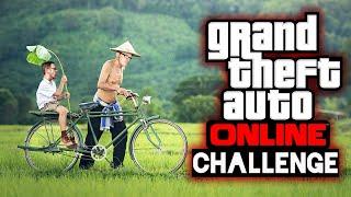 Orientierungslos auf dem Fahrrad in GTA Online