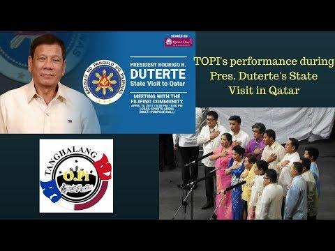 TOPi - Alikabok - Tahanan. Pres. Duterte's visit in Qatar. 15 April 2017