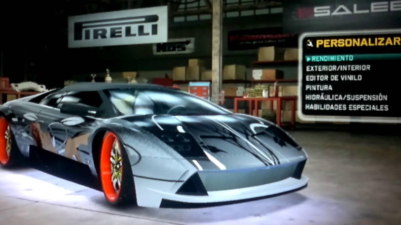 Midnight Club Los Angeles Lamborghini Murcielago Roadster Dub Edition Done By Pitumau Youtube