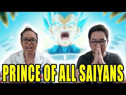 DRAGON BALL SUPER English Dub Episode 63 VEGETA PRINCE OF ALL SAIYANS REACTION & REVIEW