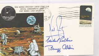 "Apollo 11 Flown Crew-Signed ""Type One"" Quarantine Cover"