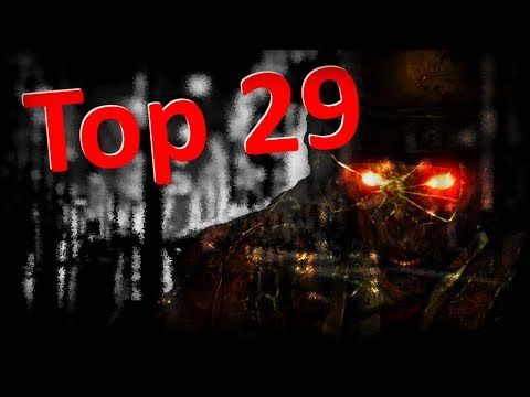 TOP 29 Zombie Maps! (Ranking All Zombie Maps in COD History!)