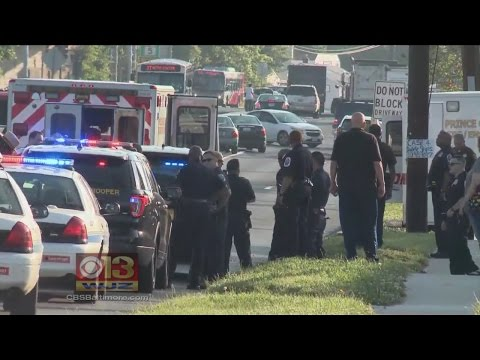 Police Chase Stolen Ambulance In Prince George's County