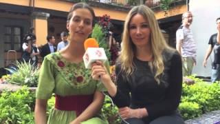 Claudia Álvarez | Entrevista para Canal de las Estrellas
