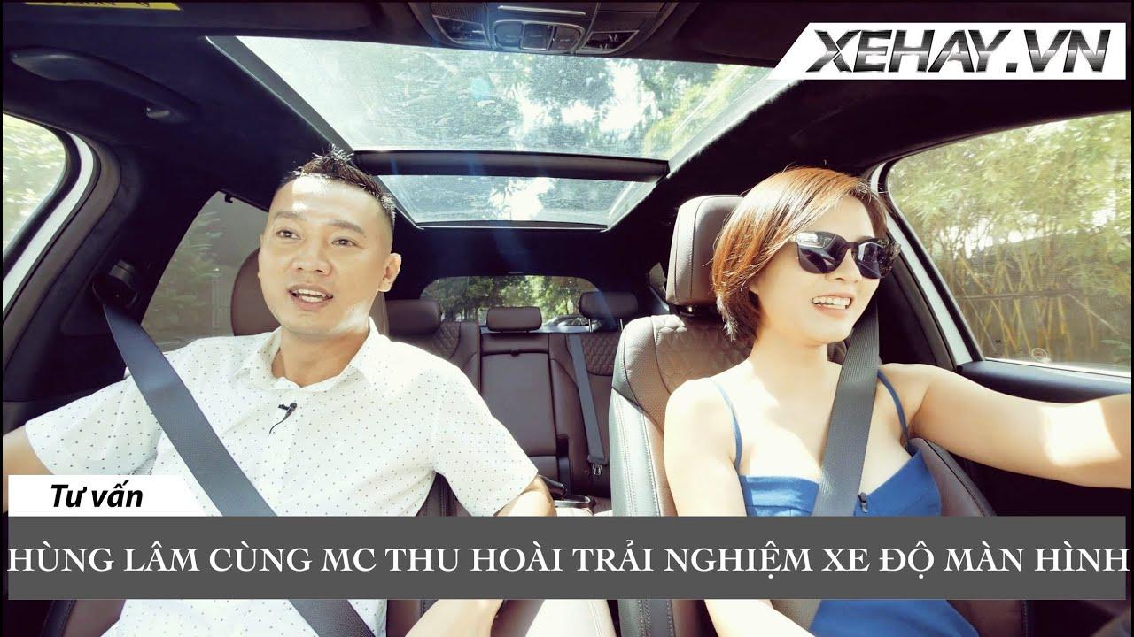 Hùng Lâm cùng diễn viên Thu Hoài trải nghiệm xe | XE HAY