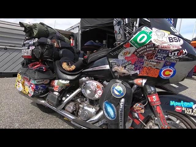 Daytona Bike Week 2019, Speedway, John Maxwell & Ciro 3D