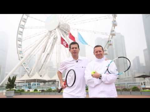 Road to Wimbledon visits Hong Kong