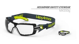 HexArmor Eyewear MX200g Product Overview