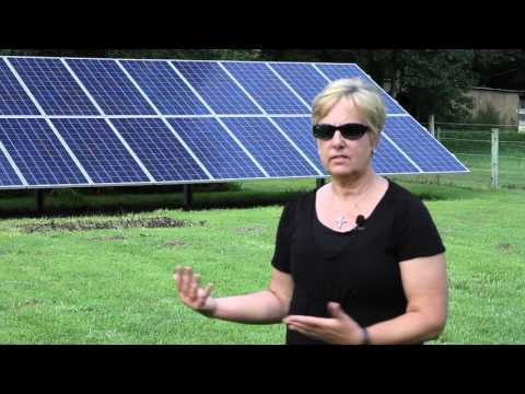 Sharon Rayne of Pittsville MD Reviews Her Home Solar Array - Paradise Energy Solutions
