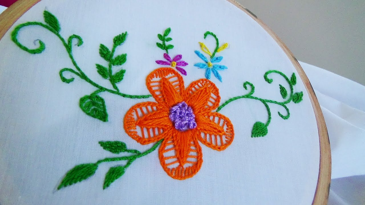 Chain Stitch Hand Embroidery Designs