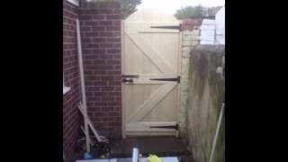 Garden Gate By Handyman Services