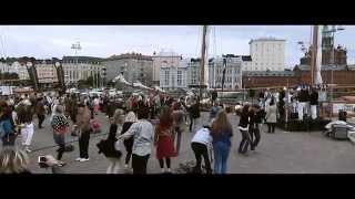 Los Salsanismo -  Hopeinen kuu  (Official Video)