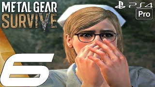 Metal Gear Survive - Gameplay Walkthrough Part 6 - Africa & Sahelanthropus (Full Game) PS4 PRO