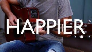 (Marshmello ft. Bastille) Happier- Fingerstyle Guitar Cover