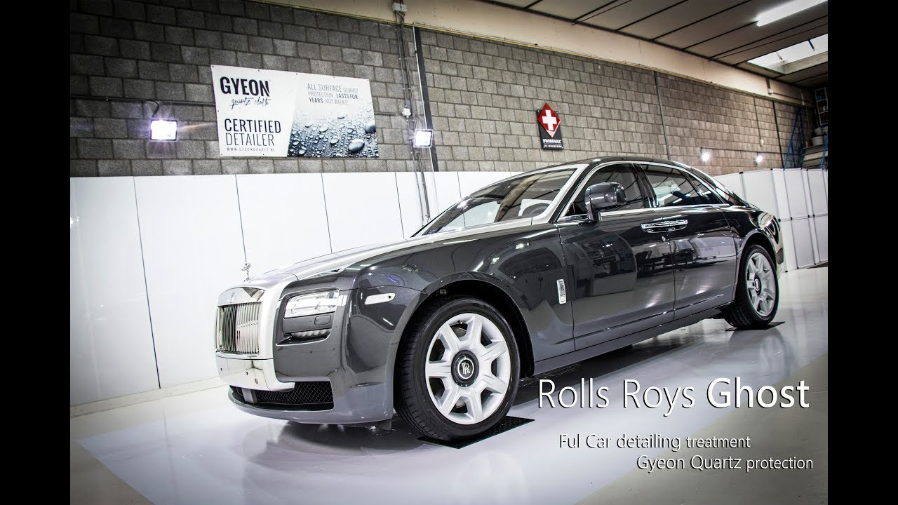 Full Car Detailing Treatment Rolls Royce Ghost Youtube