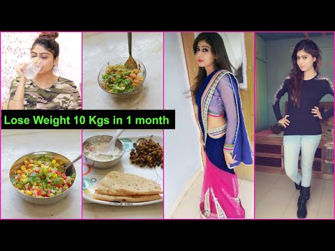 HOW TO LOSE WEIGHT FAST 10Kg – Indian Diet Plan | Rinkal Soni