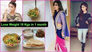 Weight Loss Diet Plan - LOSE 10 KGS IN 1 MONTH | Rinkal Soni