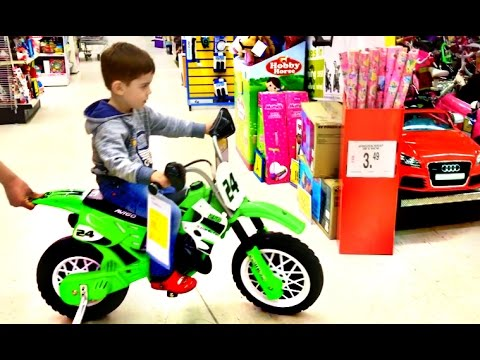 Thumbnail: Little Boy Playing at Toys R Us Superstore Fun For Kids