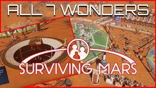 Surviving Mars - An Overview of All 7 Wonders