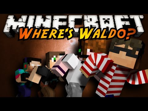 Minecraft Mini-Game : WHERE'S WALDO!