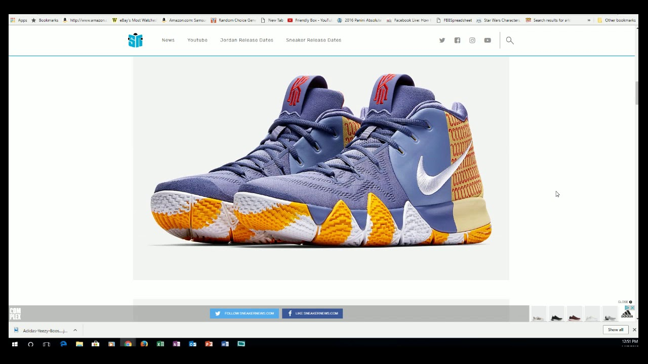 051396d68be Kyrie 4 London PE available Jan 18 - YouTube