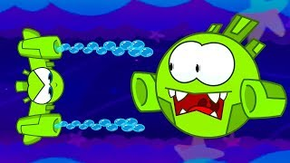 Om Nom Stories 💚 Bedtime play 💚 (Cut the Rope) Nibble-Nom