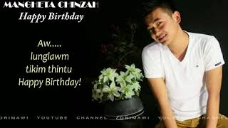 Mangheta Chinzah - Happy Birthday (Lyrics Video)