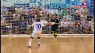 GAZPROM-YUGRA vs DYNAMO. Futsal.Championship of Russia.Final-4th game. 10/06/2013