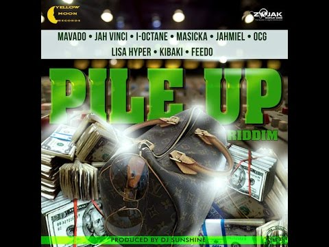 DJ CAPTAIN - PILE UP RIDDIM MIX FT. MAVADO, AIDONIA, JAHMIEL & MORE