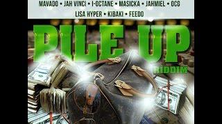 DJ CAPTAIN - PILE UP RIDDIM MIX FT. MAVADO, AIDONIA, JAHMIEL & MORE