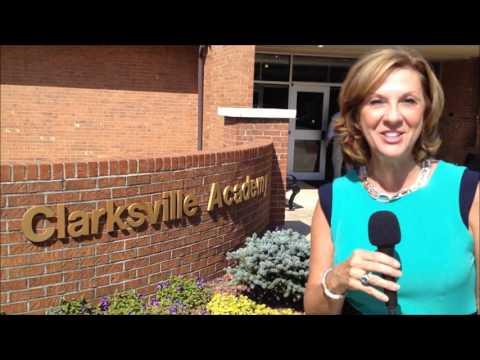 Clarksville Academy First Day of School