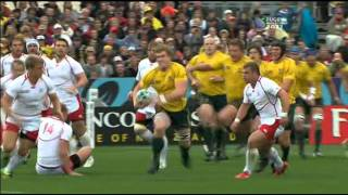 Rugby union Australia vs Russia at Nelson, New Zealand part 2.