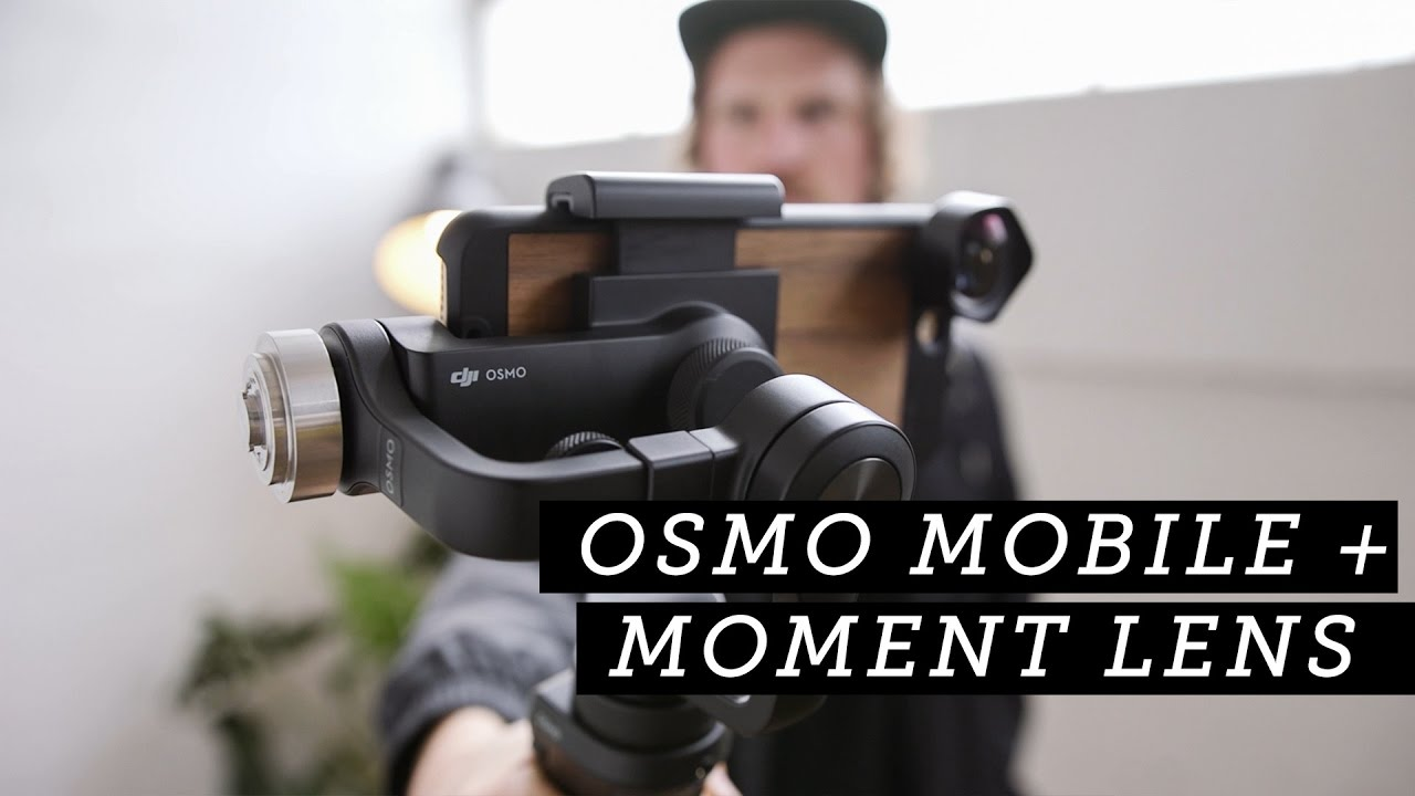 half off 4c169 7e57c Moment: Osmo Mobile + Moment Lenses + iPhone 7 Plus