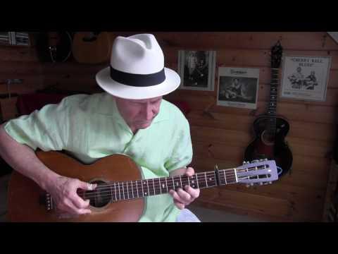 Drunken Barrelhouse Blues - Memphis Minnie - on a vintage Supertone