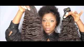 Repeat youtube video Virgin Hair Burmese Curly Review | DHair Boutique