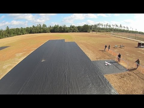 CSRA Flyers - Inaugural Flights From New Geotextile Runway (1-16-16)