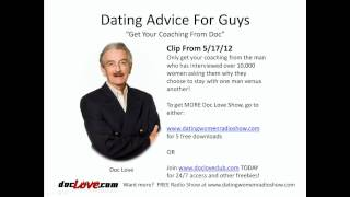 Dating Advice For Guys: Get Your Coaching From Doc