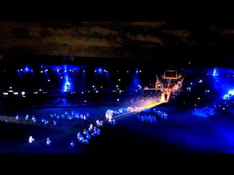 Le spectacle d'inauguration du Stade Océane, au Havre