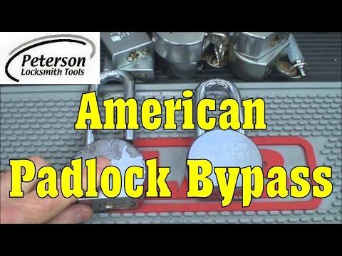 (46) Review: American Padlock Bypass Tools by Peterson