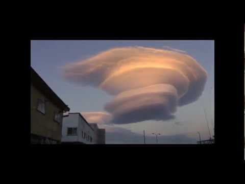 Cloudship UFO! Unreal Cloud Formation!! Phenomenon or Unnatural?