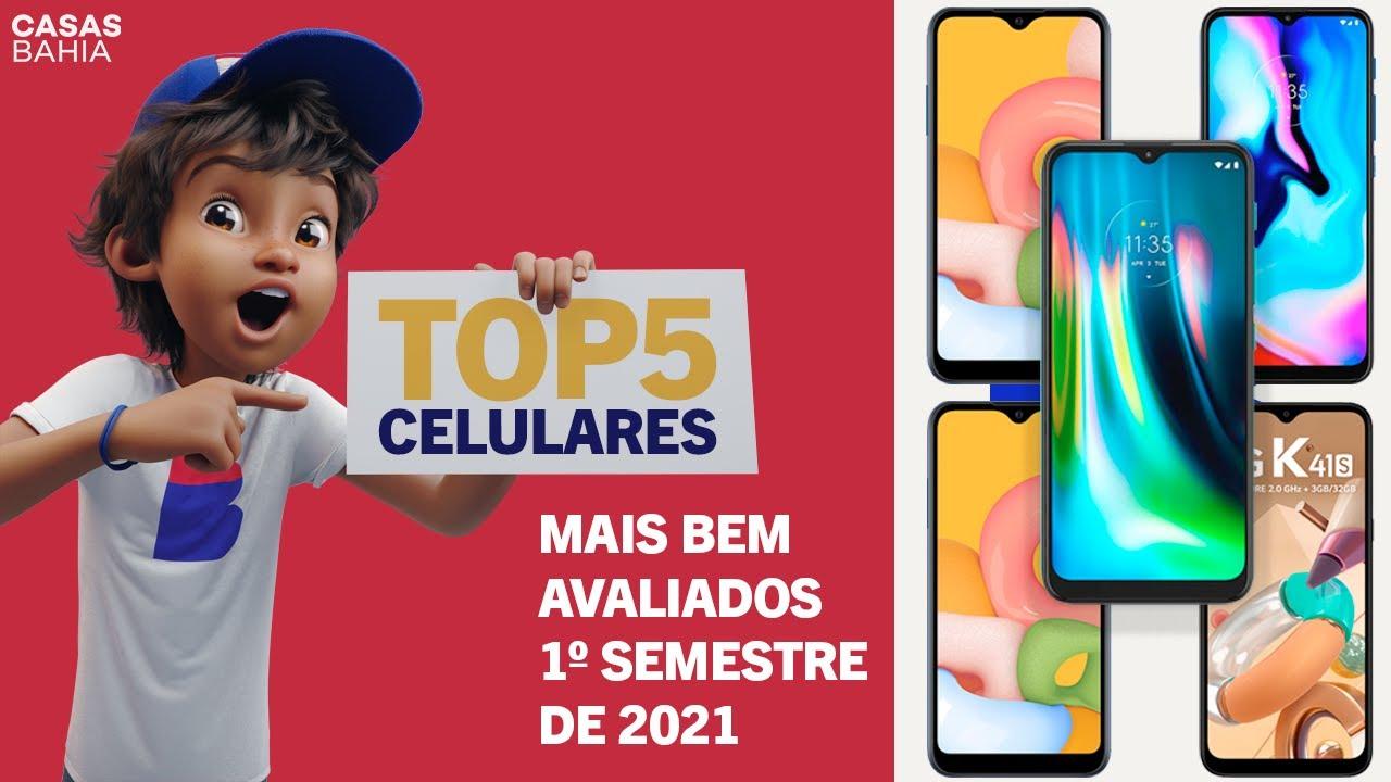 QUER UM SMARTPHONE até R$ 1.100,00?  Confira o TOP 5 dos mais bem avaliados no 1º semestre de 2021