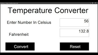 How to Create a Temperature Converter in Animate CC