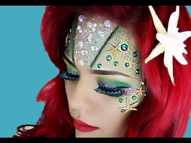 Maquillaje De Sirena Tutorial Lolo Love Youtube