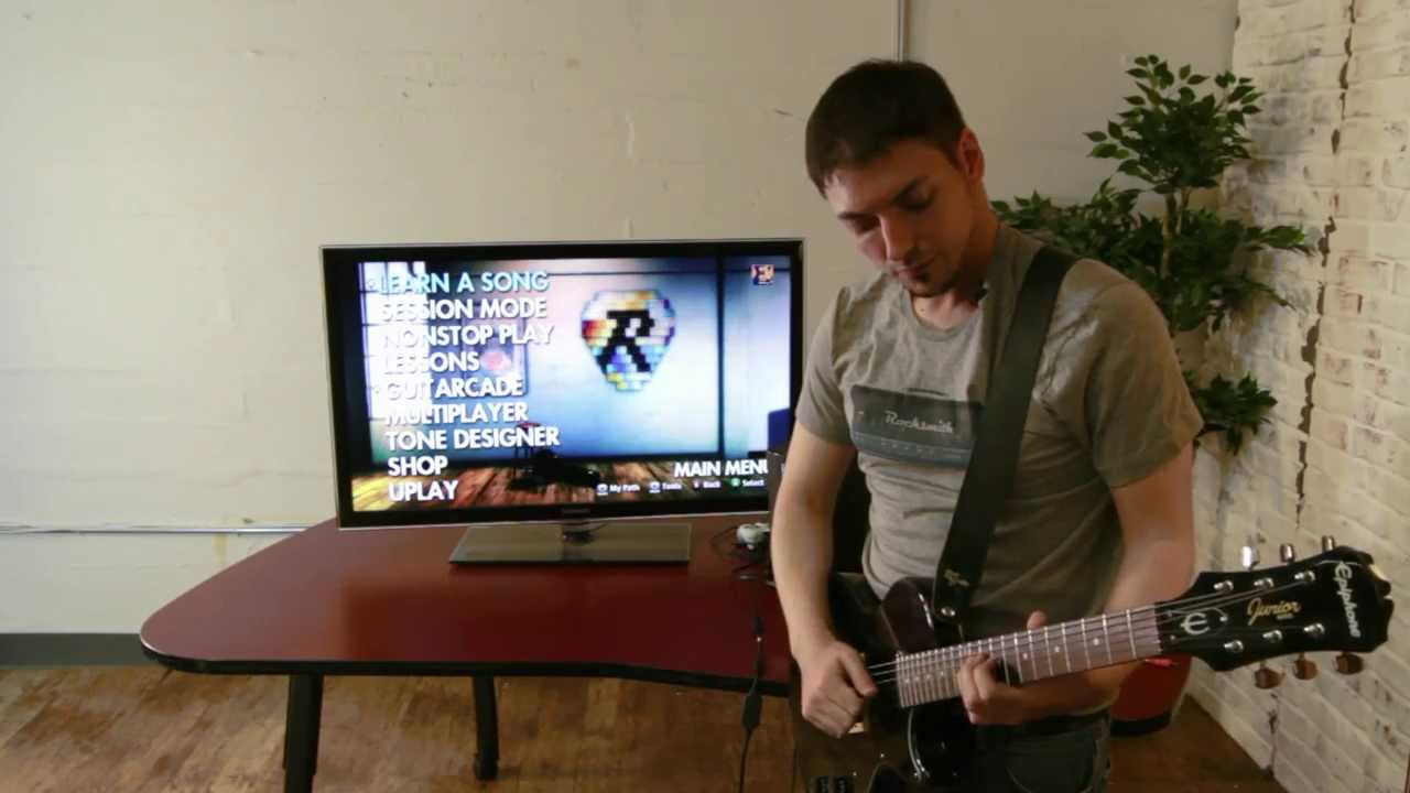 Best way to hook up rocksmith