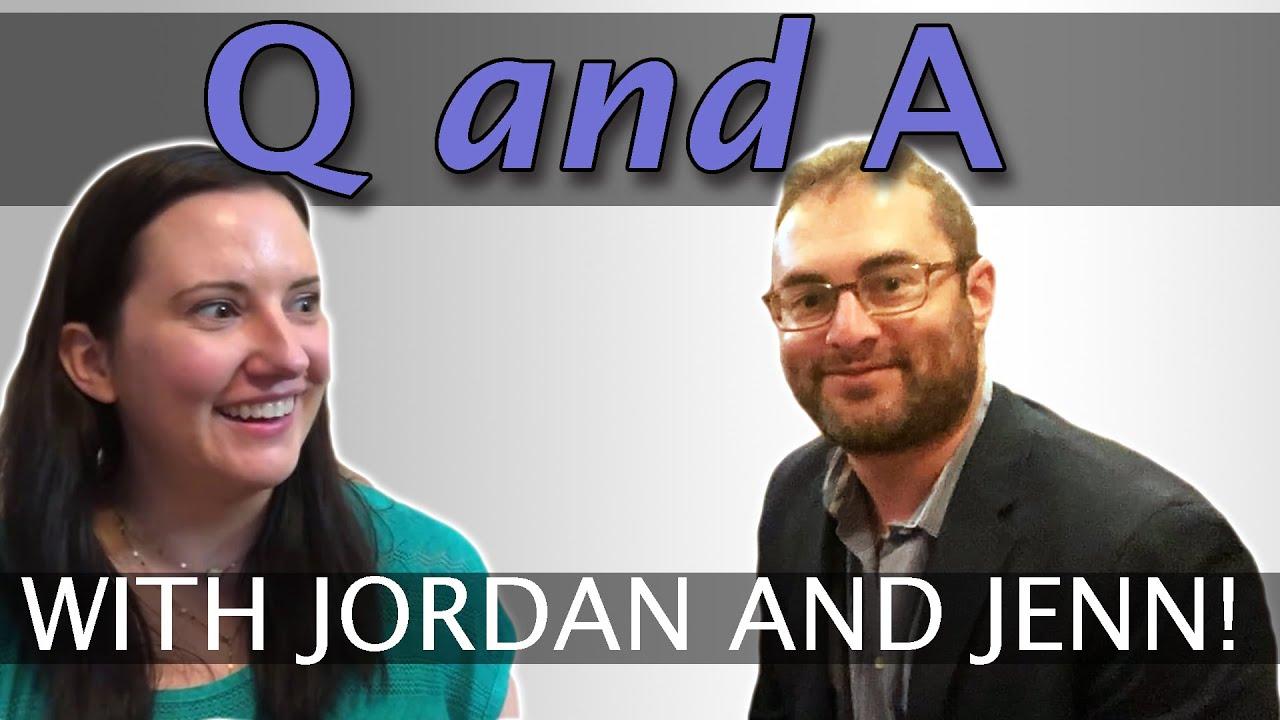 Jenn & Jordan Road Trip Q&A