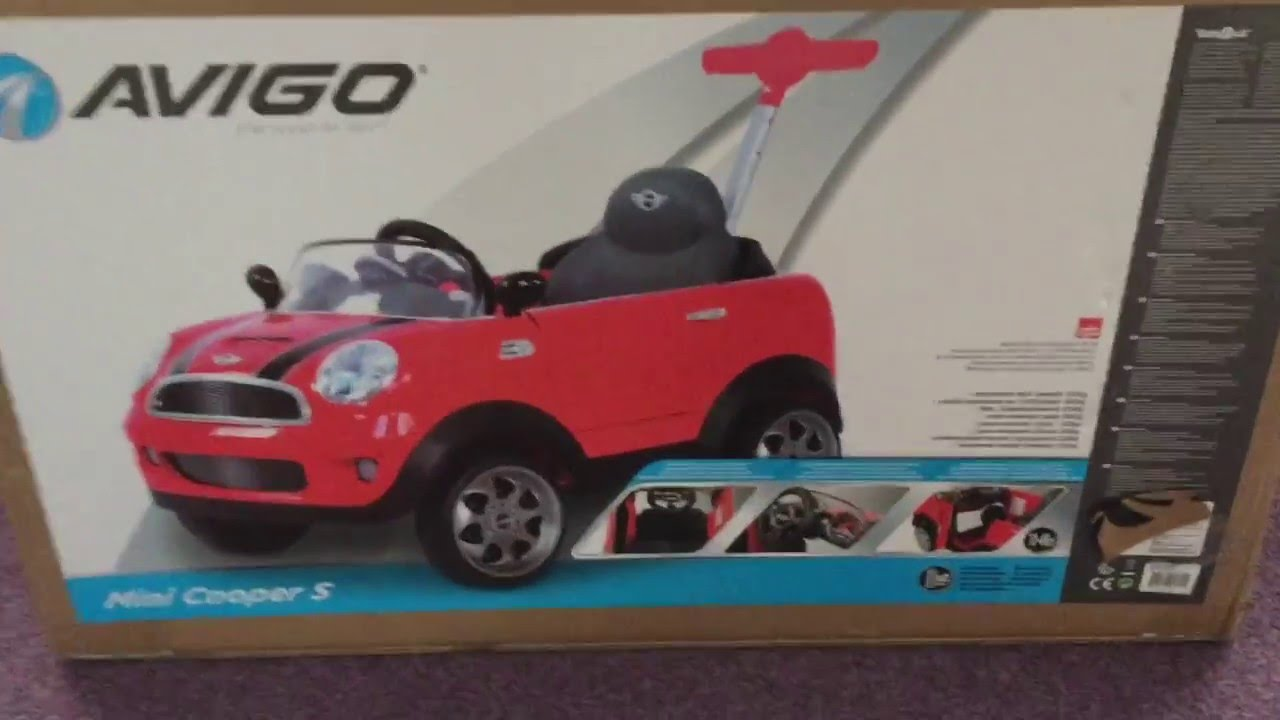 Avigo Mini Cooper S Push Along Review Full Build Faults