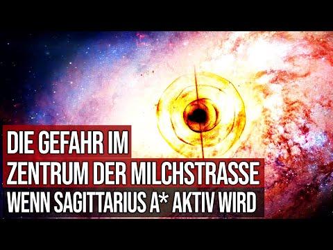 Die Gefahr im Zentrum der Milchstrasse - Wenn das schwarze Loch Sagittarius A* aktiv wird
