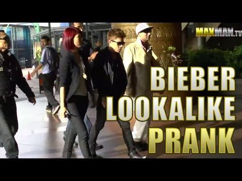 Justin Bieber look-alike mall prank Asian edition by Maxmantv