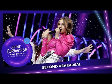 France 🇫🇷 - Carla - Bim Bam Toi - Second Rehearsal - Junior Eurovision 2019